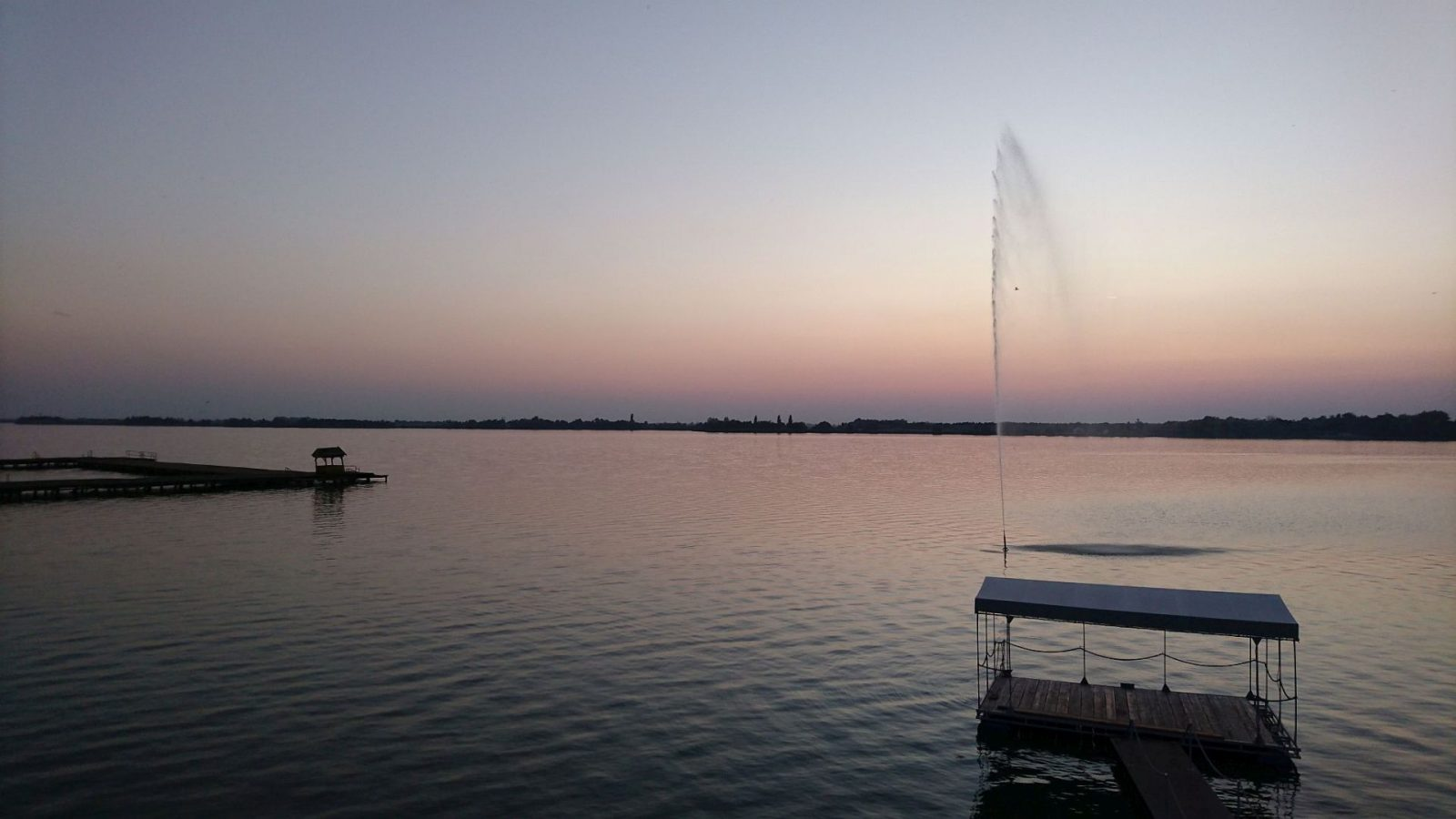 Abendstimmung am Palić-See bei Subotica