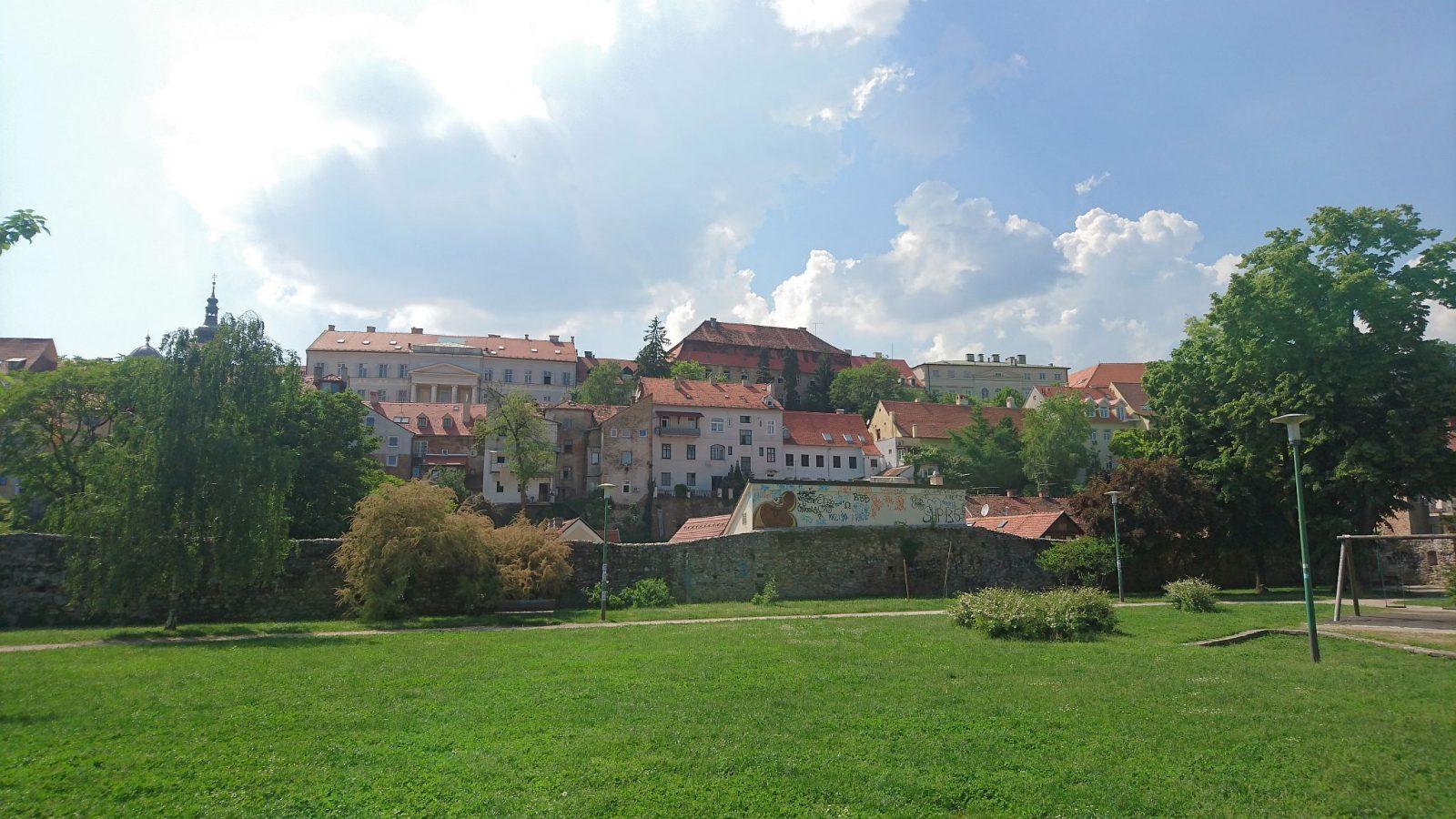 Blick auf die Zagreber Oberstadt.