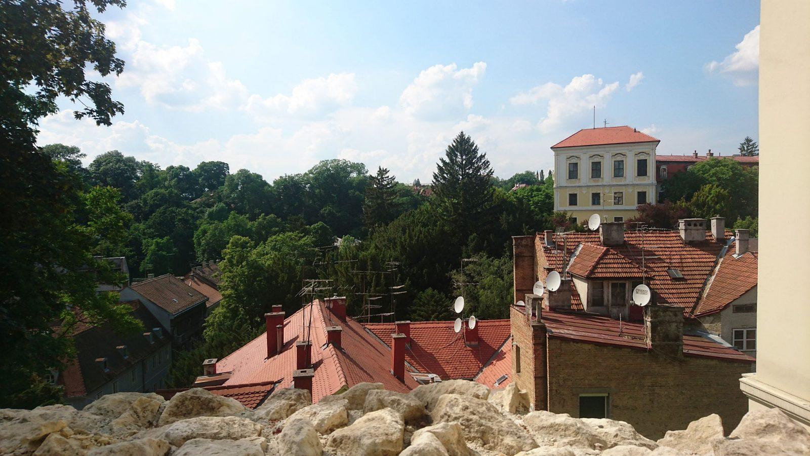 Die Zagreber Oberstadt