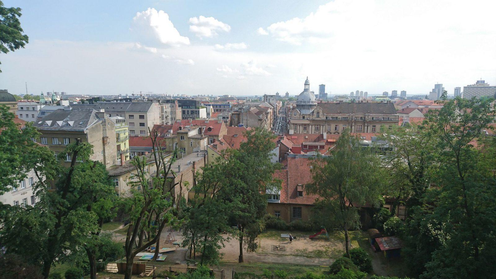 Blick von der historischen Oberstadt in Richtung Süden.