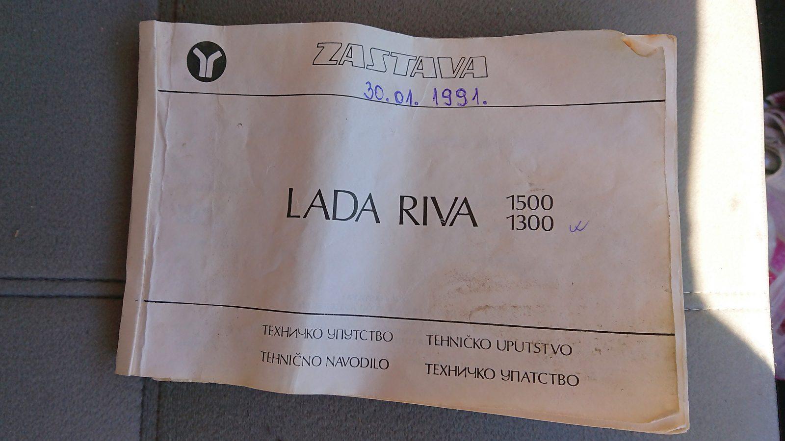 Die originale Bedienungsanleitung des Zastava-Vertriebs in vier Sprachen
